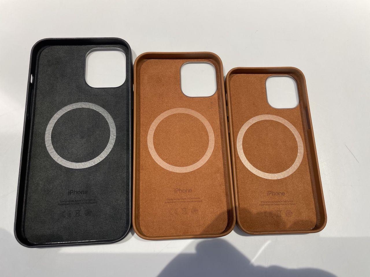 cuir magsafe de tous les iphone 12