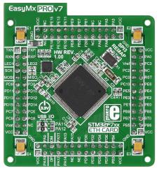 EasyMx PRO v7 MCU stm32f746