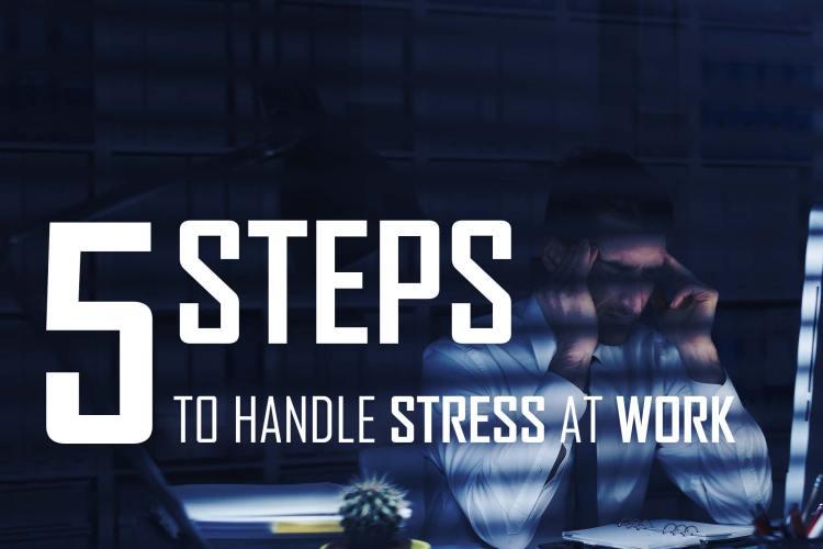 5 step to handel stress