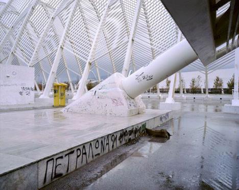 Abandonado Olímpicos de Atenas 2004 Estadio