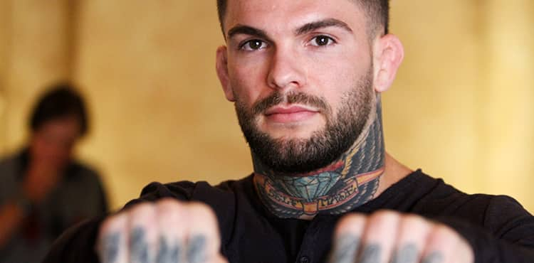 Cody Garbrandt double fists