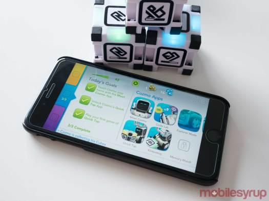 Cozmo iOS app