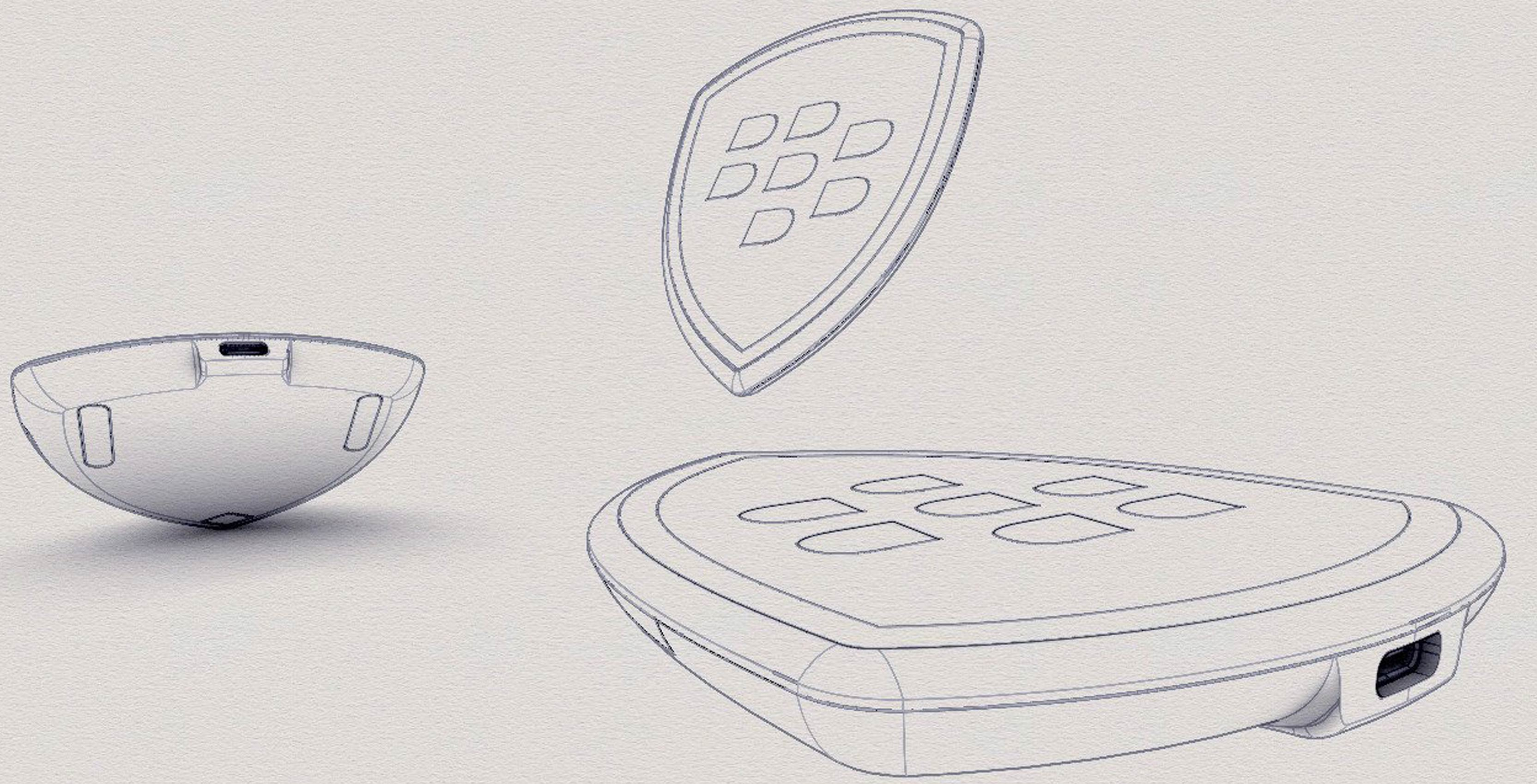 Leaked Blackberry Accessory Could Be A Wireless Charger Or