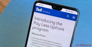 Bell launches 'Pay Less Upfront' program for two-year