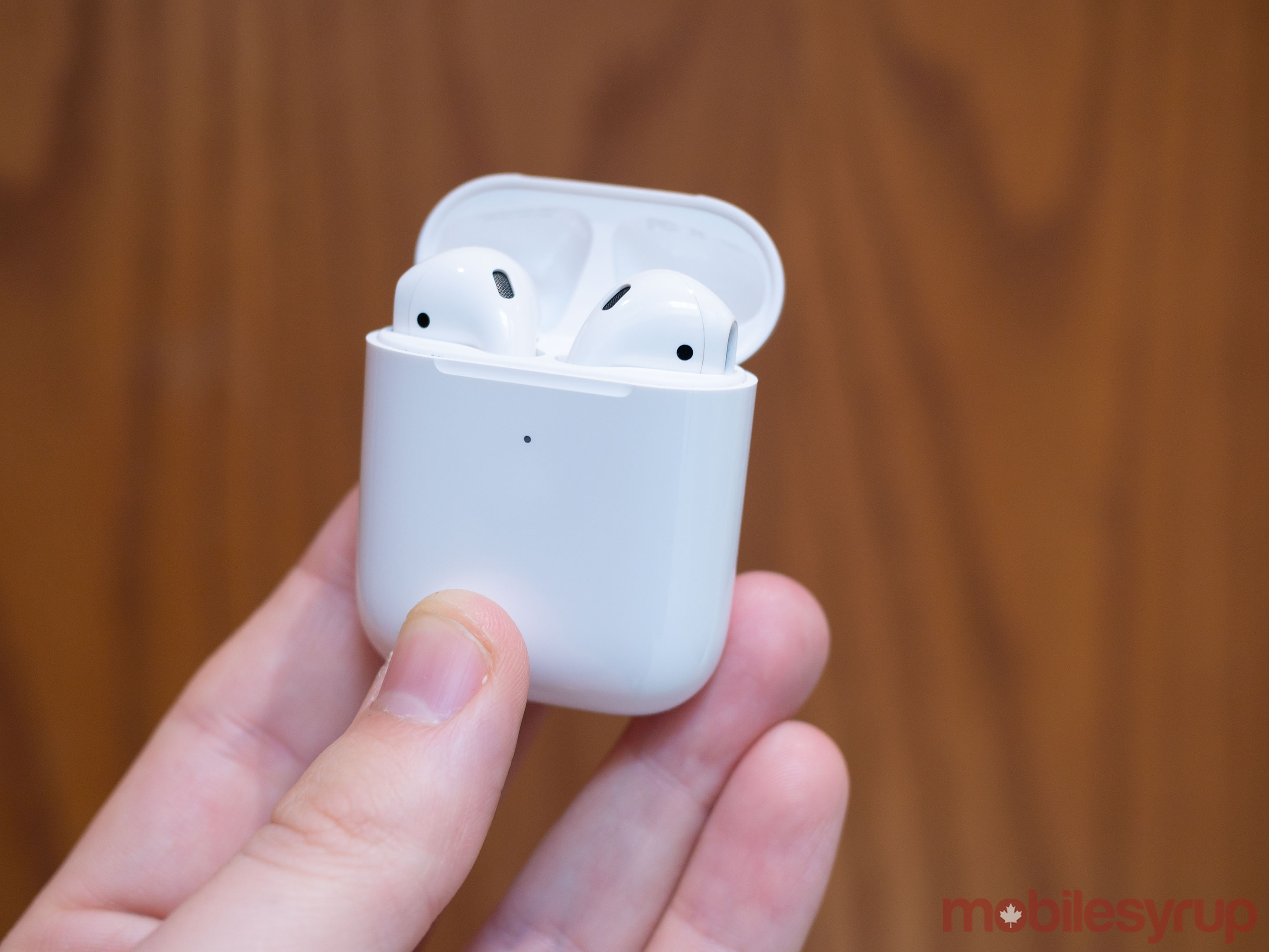 ec515775649 Apple's AirPods (2019) look identical to their predecessor. This means if  you thought AirPods were strange back in 2017 when they first launched, ...