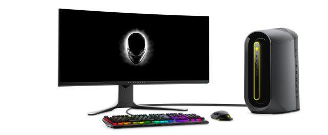alienware auroro ryzen edition r10 with monitor scaled