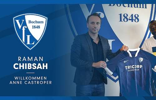 german side vfl bochum sign ghana