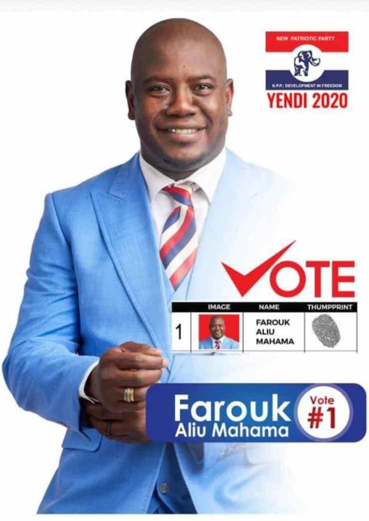 NPP Primaries: Farouk Aliu Mahama Tipped To Win Yendi