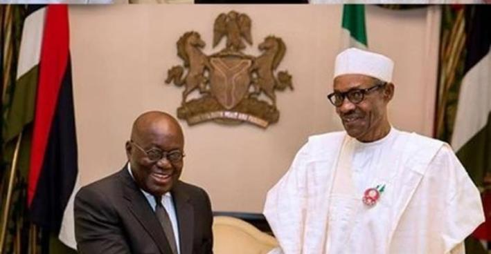President Akufo-Addo andPresident Muhammadu Buhari