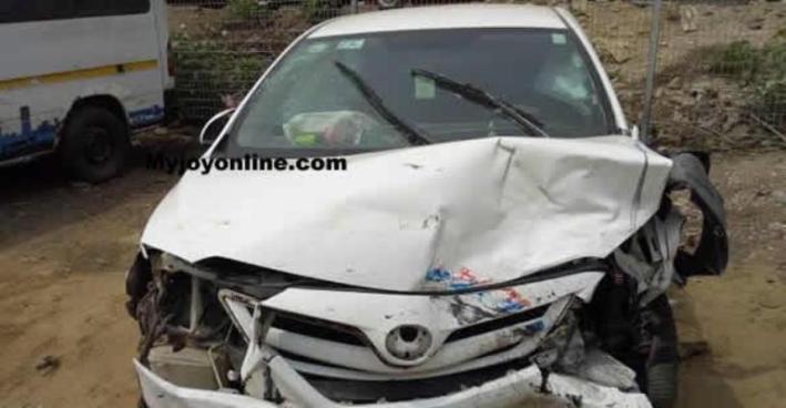 Many Injured As Bukom Banku Car Crashed Into Benz Sprinter
