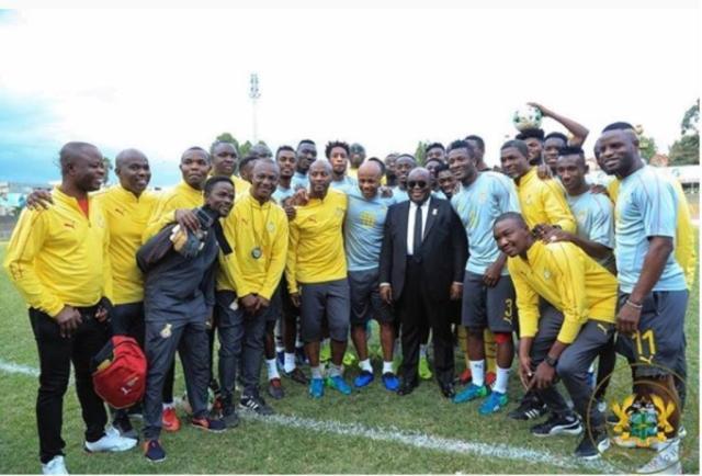 Image result for ghana black stars squad for afcon 2019