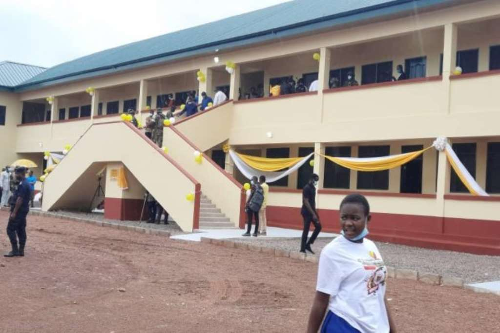 Bawumia opens 600-bed girls' dormitory for Tamale SHS