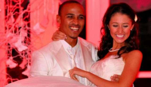 Image result for Osaze Odemwingie and Sarah Michael
