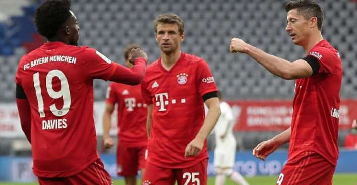 , Bundesliga: Bayern Down Frankfurt To Restore Lead Ahead Of Title Showdown With Dortmund