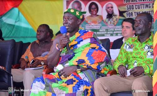 Nana Akwesi Sompreh II (Divisional Chief Of Bogoso)