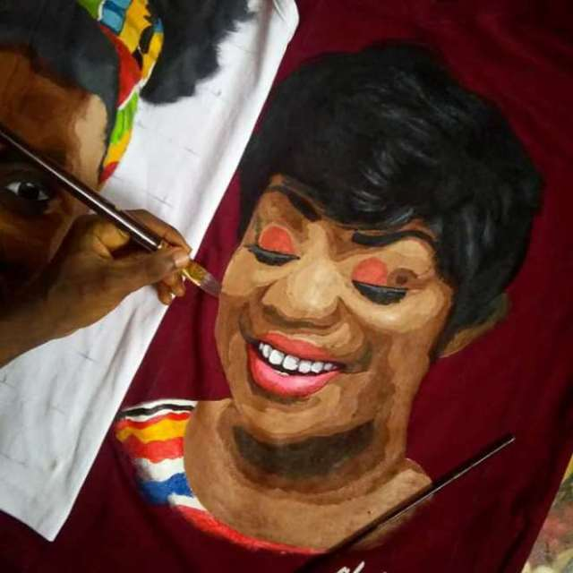 Beautiful Woman In Art
