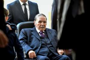 Algeria's ailing President Abdelaziz Bouteflika has faced a mass of protests against his bid for a fifth term in power. By RYAD KRAMDI (AFP / File)