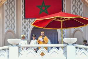 Most major decisions in Morocco still ultimately flow from King Mohammed VI.  By Driss BEN MALEK (Moroccan Royal Palace/AFP/File)