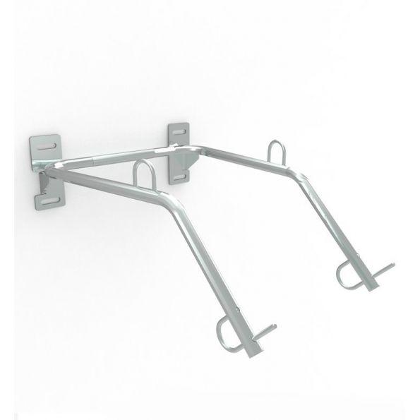 triton double wall mounted bike rack