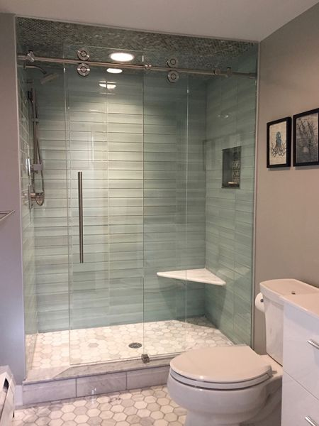 1000 Series Frameless Shower Door