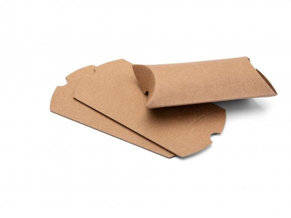 mini packing pillow boxes kraft paper