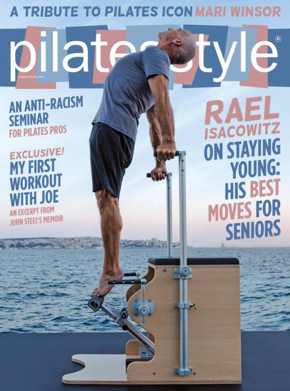 Pilates Style Magazine Cover