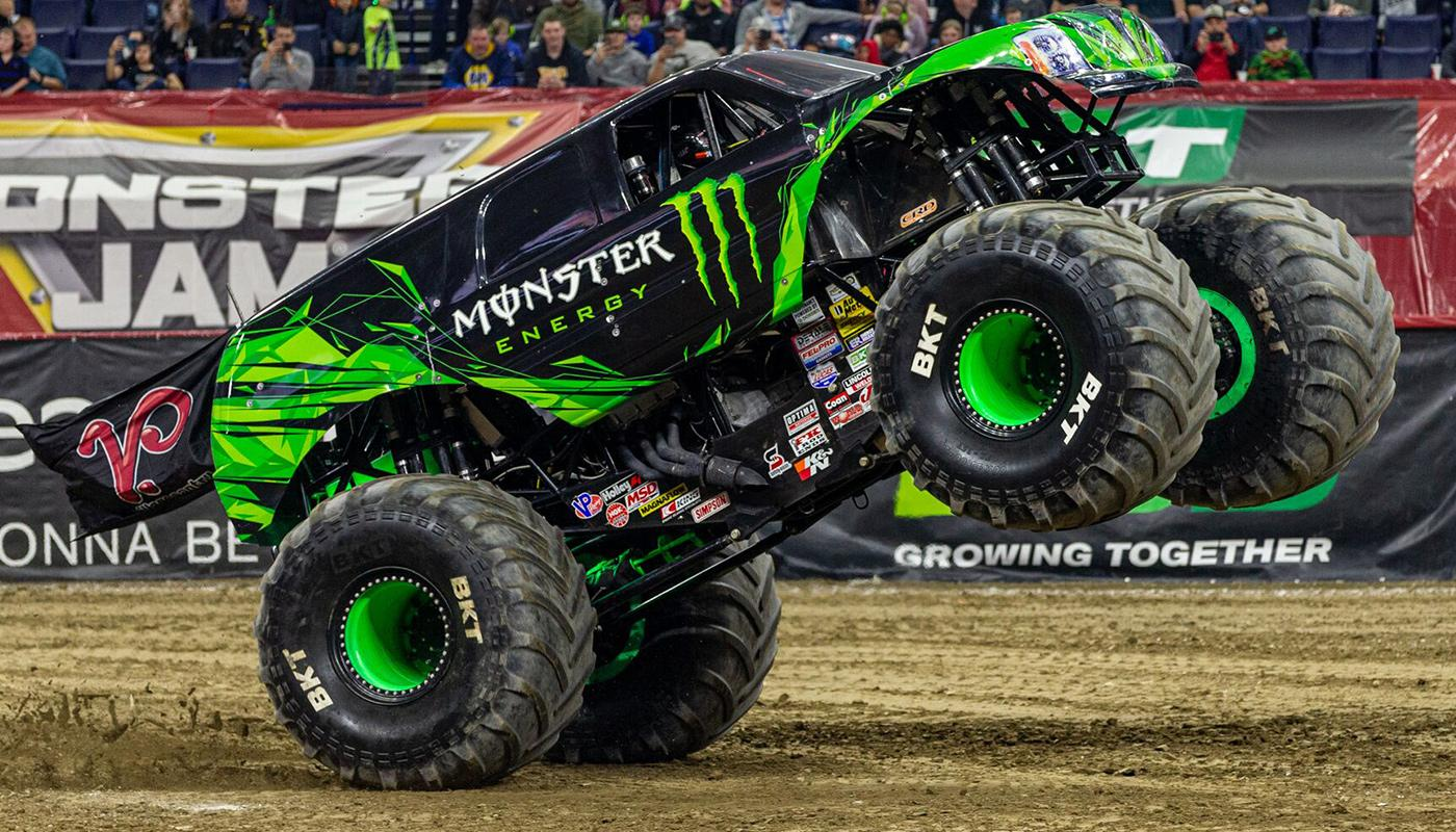 Minneapolis Mn Feb 15th 2020 U S Bank Stadium Monster Jam