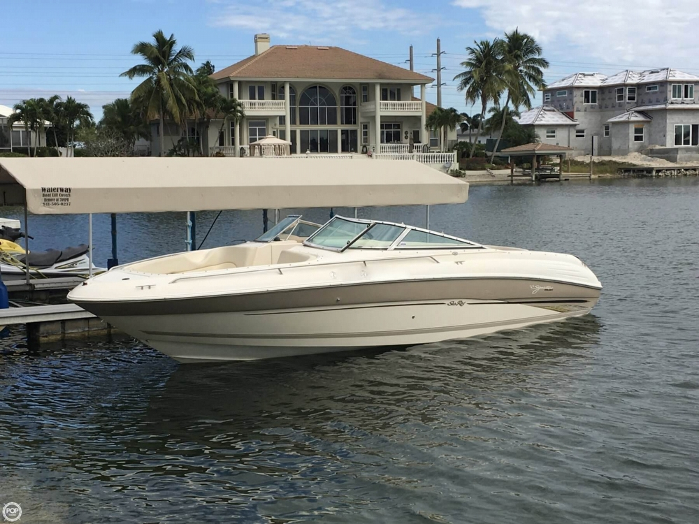 1999 Used Sea Ray 260 Signature Select Bowrider Boat For