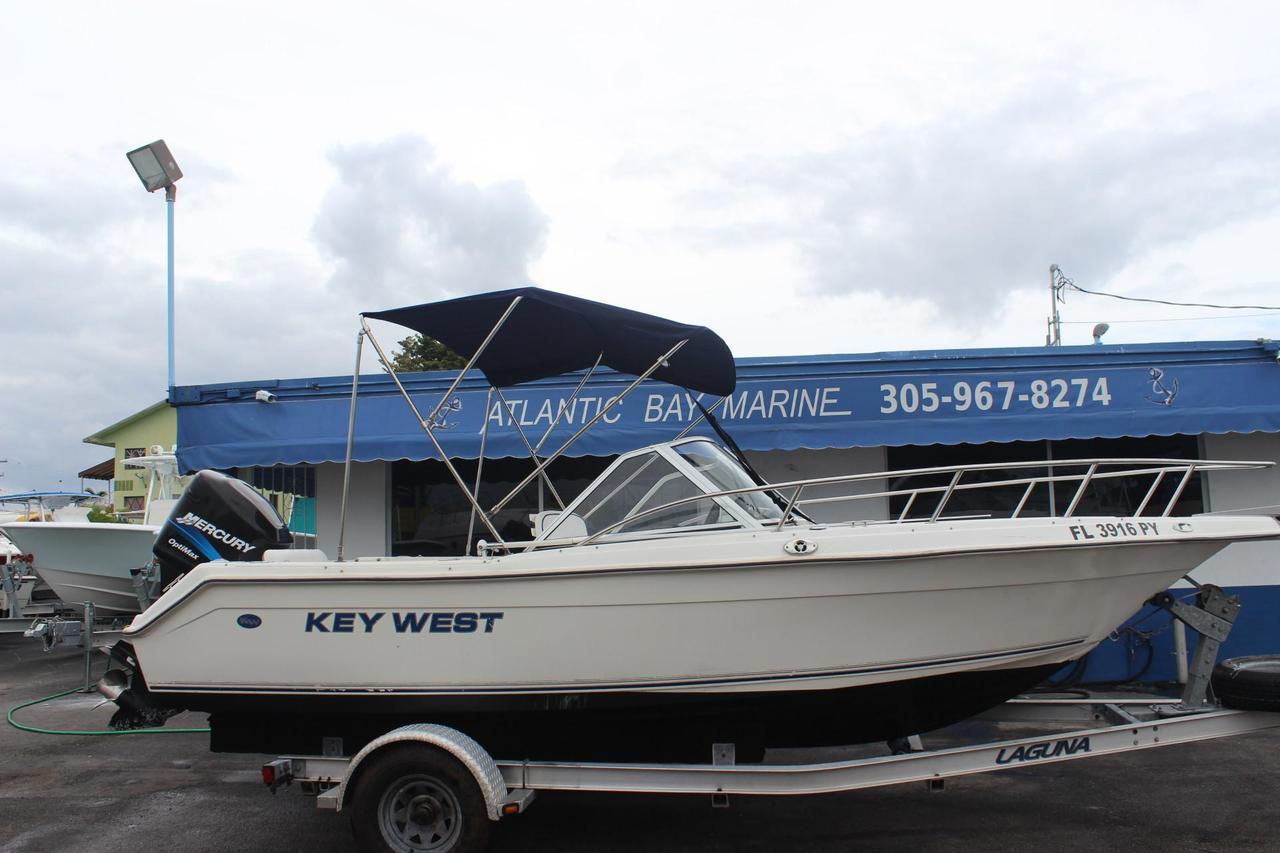Dual West Console 2006 Key Boat 2020