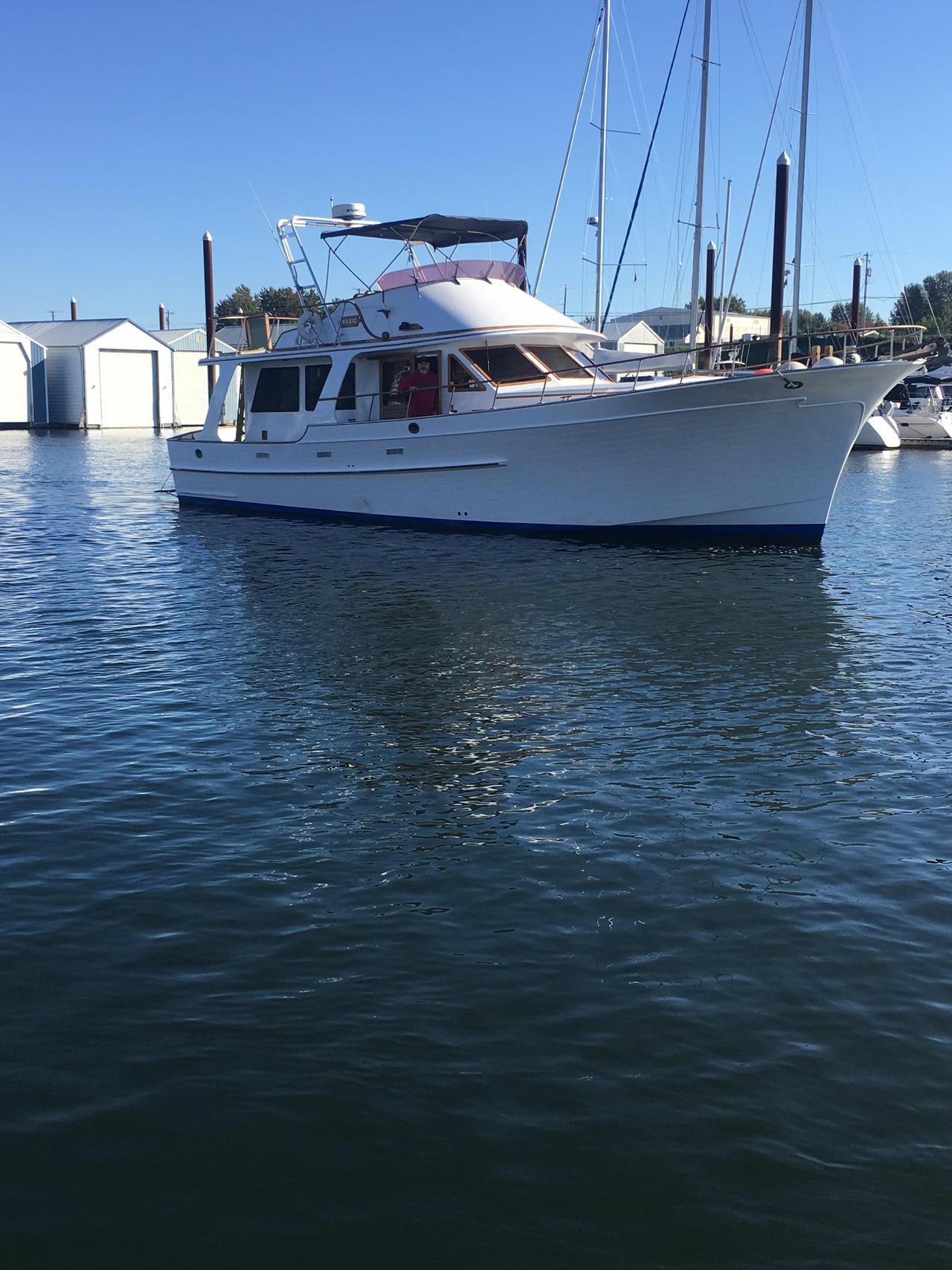 1979 Used Albin 49 Europa Pilothouse Trawler Boat For Sale