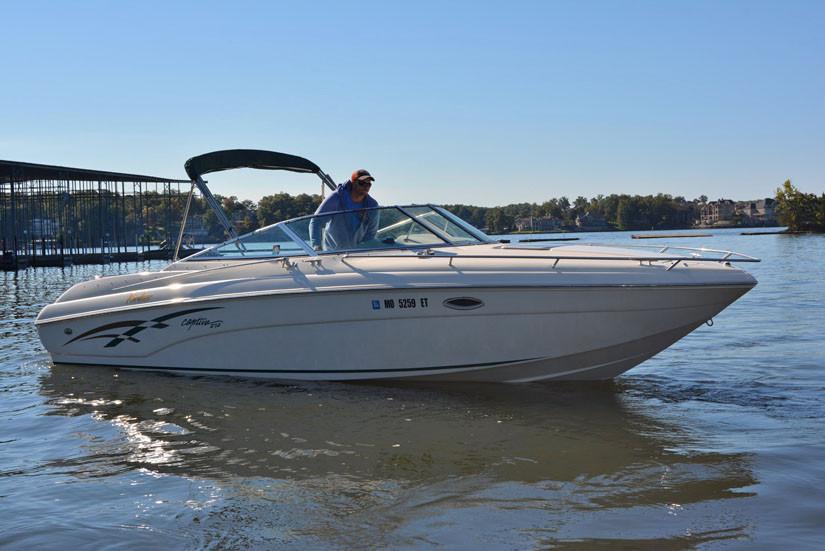 2000 Used Rinker 272 Captiva Cuddy Cabin Boat For Sale 14900 Lake Ozark MO