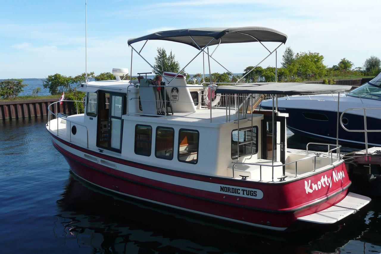 1999 Used Nordic Tugs 32 Trawler Boat For Sale 139900