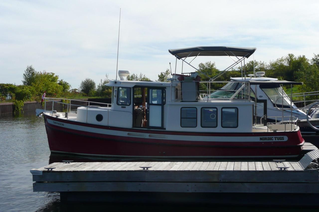 1999 Used Nordic Tugs 32 Trawler Boat For Sale 139900 CA