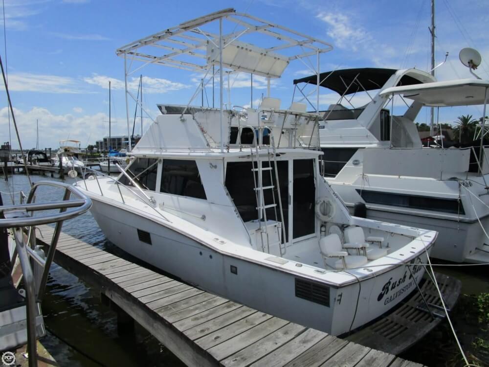 1977 Used Trojan F 36 Sports Fishing Boat For Sale