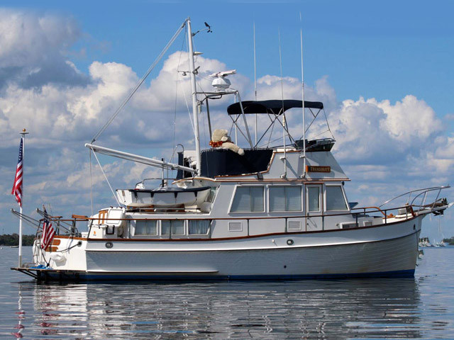 1987 Used Grand Banks 36 Classic Trawler Boat For Sale 105000 Marathon FL