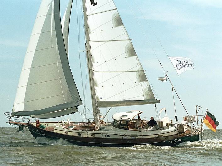 2017 New Hans Christian Yachts 48 Traditional Cutterketch