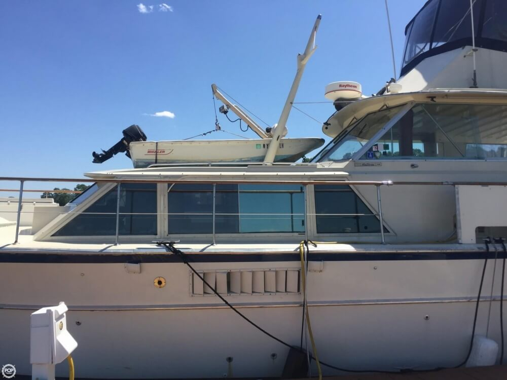 1972 Used Hatteras Fisherman 48 Cruiser Boat For Sale
