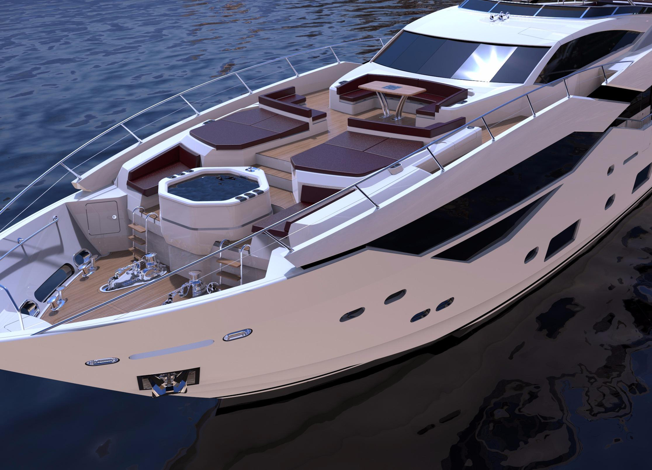 2017 New Sunseeker 116 Yacht Mega Yacht For Sale Fort Lauderdale FL