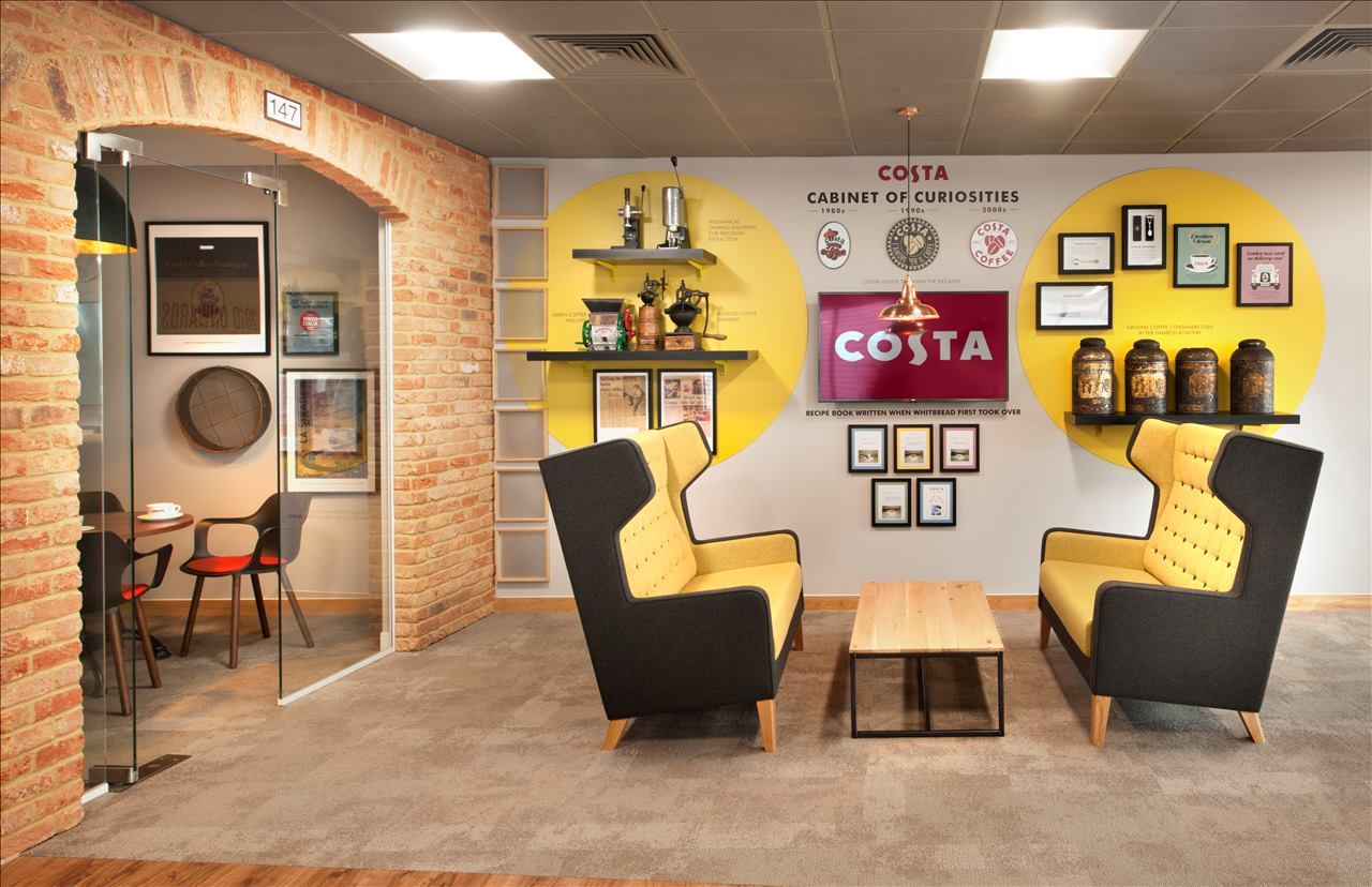 Inside Costas Office Fit Out Morgan Lovell