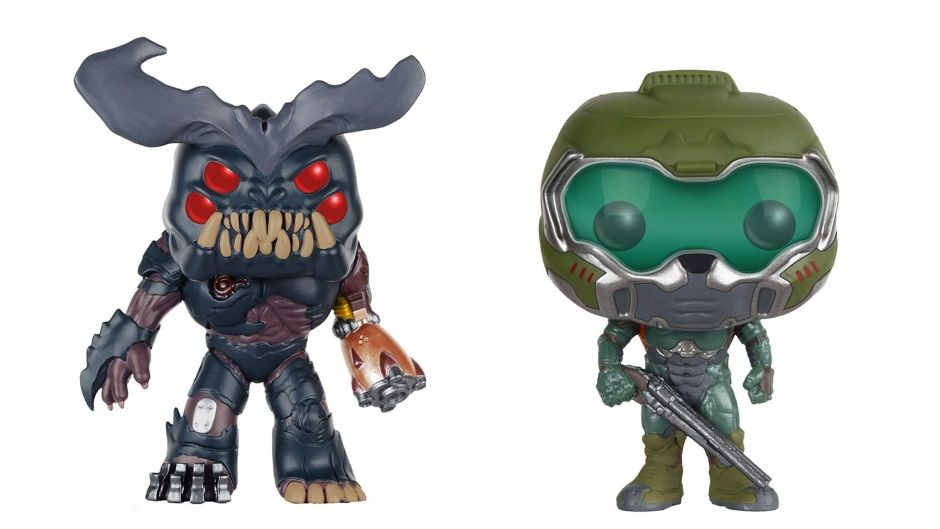 Doom Funko Pop Figures Make Hell On Mars Absolutely