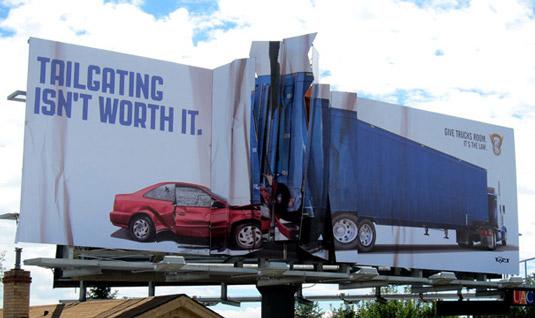 11fca0c94e658fbeccd881e5b58be720 40 traffic-stopping examples of billboard advertising Random