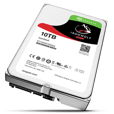 Seagate 10TB IronWolf HDD