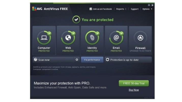 AVG Anti-Virus Free 2016
