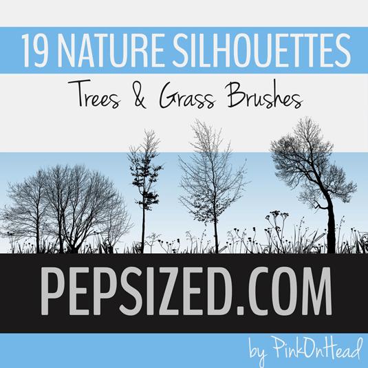 free Photoshop brushes: nature