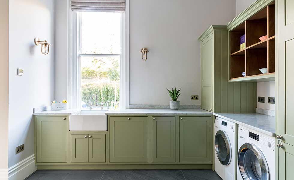 how to design a utility room homebuilding