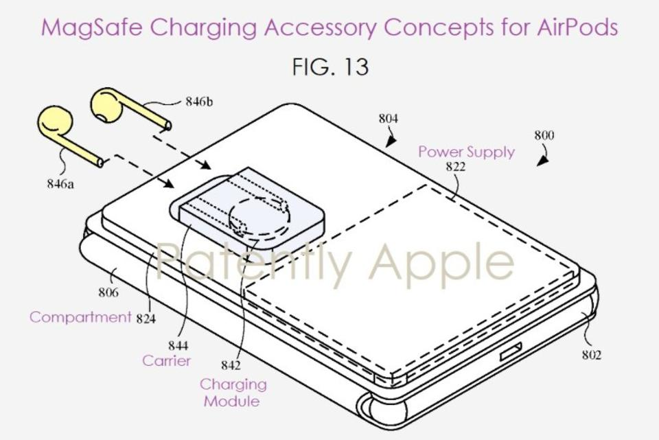 MagSafe AirPods Patent