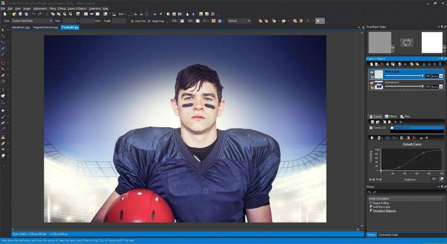 Photo Pos Pro - free graphic design software