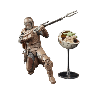 Star Wars figures part of the Black Series line is adding stunning versions of the Mandalorian and Grogu (Baby Yoda) for 2021.