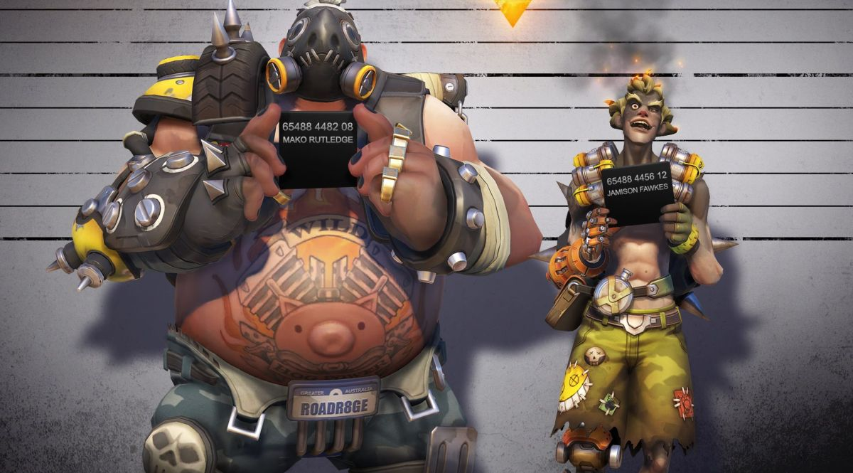 New Overwatch Heroes Junkrat And Roadhog Make Their