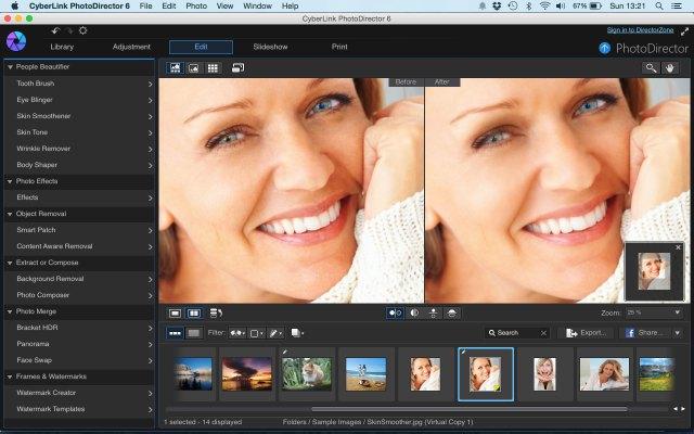 Cyberlink PhotoDirector 6